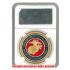 ケース入りジョーク金貨 アメリカ海軍 コイン(金メッキ)の画像3