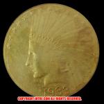 1933年 インディアンヘッドイーグル10ドル金貨(レプリカコイン)