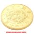 復刻版 近代銭 明治三年銘 旧二十圓 金貨 艶消し仕上げ レプリカの画像3