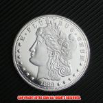 モルガン1ドル銀貨1889年プルーフ(レプリカコイン)