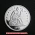 シーテッド・リバティ・ダラー銀貨1873年プルーフ(レプリカコイン)の画像1