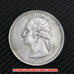 ワシントンクォーターダラー1932年銀貨1ドル(レプリカコイン)