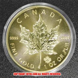 メイプル金貨 メイプルリーフ 1オンス 2015年製(レプリカコイン)