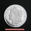 モルガン1ドル銀貨1879年プルーフ(レプリカコイン)