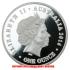 女王エリザベス2世生誕90周年 1ポンド銀貨(レプリカコイン)の画像2