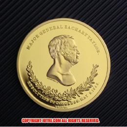 第12代アメリカ合衆国大統領ザカリー・テイラー金貨(レプリカコイン)