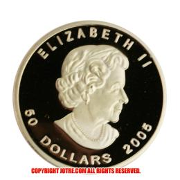 メイプル金貨 メイプルリーフ 1オンス 2005年製(レプリカコイン)