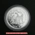 シーテッド・リバティ・ダラー銀貨1873年プルーフ(レプリカコイン)の画像3