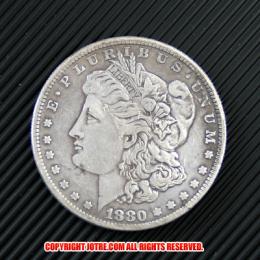 モルガン1ドル銀貨1880年(レプリカコイン)