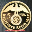 ドイツ1937年金貨(レプリカ)