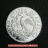 ドレイプト・バスト・スモール・イーグル・コイン銀貨1796年10 セント(レプリカコイン)の画像2