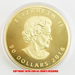 メイプル金貨 メイプルリーフ 1オンス 2016年製(レプリカコイン)