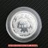 バーバー・ダイム10セント銀貨1895年(レプリカコイン)の画像3