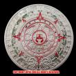 アステカ族 マヤ暦シルバーコイン(メッキ)