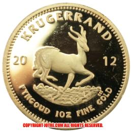 2012年クルーガーランド金貨(レプリカコイン)