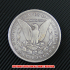 モルガン1ドル銀貨1893年(レプリカコイン)の画像2