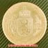 1908年 ブルガリア フェルディナンド1世 100レバ金貨(レプリカコイン)の画像2