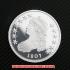 キャップト・バスト・ハーフダラー1807年銀貨プルーフ(レプリカコイン)の画像1