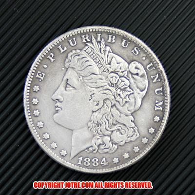 モルガン1ドル銀貨1884年(レプリカコイン) | ジョークトレジャー