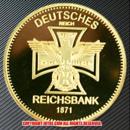 ドイツ1871年金貨(レプリカ)