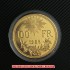再入荷★スイスブレネリ100フラン金貨レプリカ1925年(レプリカコイン)の画像3