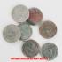 アウトレット品★本物★ナチスドイツ銀貨reichsmark2ライヒスマルクコイン7枚セットの画像1