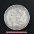モルガン1ドル銀貨1893年(レプリカコイン)の画像1