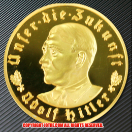 ドイツヒトラー1933年金貨(レプリカ