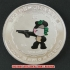 レプリカコイン☆北京オリンピック記念メダル 射撃の画像4