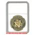 ケース入りジョーク金貨 Operation Iraqi Freedom イラク解放作戦 コイン(金メッキ)の画像3