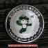 レプリカコイン☆北京オリンピック記念メダル バトミントン 妮妮(ニーニー)ケース付きの画像2