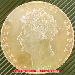 1826年 イギリス ジョージiv 5ポンドゴールド(レプリカコイン)