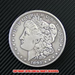 モルガン1ドル銀貨1892年(レプリカコイン)