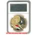 ケース入りジョーク金貨 Operation Iraqi Freedom イラク解放作戦 コイン(金メッキ)の画像2