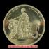 アウトレット1839 ブリティッシュ 5ポンド 金貨 (ウナ&ライオン) レプリカコインの画像2