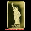 """アメリカ""""自由の女神""""1オンスゴールドプレート"""