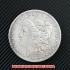 モルガン1ドル銀貨1902年(レプリカコイン)の画像1