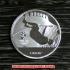 北京オリンピック記念メダル陸上競技 迎迎(インイン) ケース付きレプリカの画像3