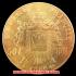 エンペラー ナポレオンIII 1966-A 50フラン金貨(レプリカコイン)の画像2