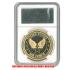 ケース入りジョーク金貨 アメリカ空軍 US AIR FORCE コイン(金メッキ)の画像2