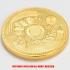 復刻版 近代銭 明治十年銘 旧二十圓 金貨 プルーフ調仕上げ レプリカの画像4