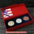 北京オリンピック(BEIGING2008)記念メダル 金銀銅メダルセット ケース付きの画像1