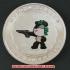 レプリカコイン☆北京オリンピック記念メダル 射撃の画像1
