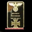 ナチスドイツマーク入りレプリカゴールドバー