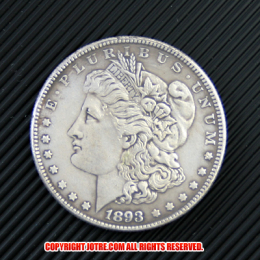 モルガン1ドル銀貨1893年(レプリカコイン)