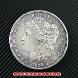 モルガン1ドル銀貨1895年(レプリカコイン)