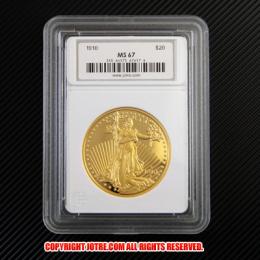 セントガーデン イーグル金貨1910年 Jotreオリジナルコレクションケース付き(レプリカコイン)
