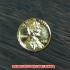 1セントコイン 金貨 レプリカの画像2