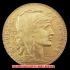 20フラン金貨(レプリカ) ルースター 8枚セット1907-1914年(レプリカコイン)の画像1