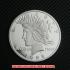 ピースダラー1ドル銀貨1928年プルーフ(レプリカコイン)の画像1
